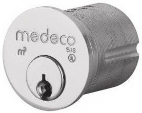 Medeco High Security Lock With Circular Design and Cylindrical tube