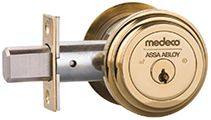 Bronze Medeco High Security Magnetic Lock